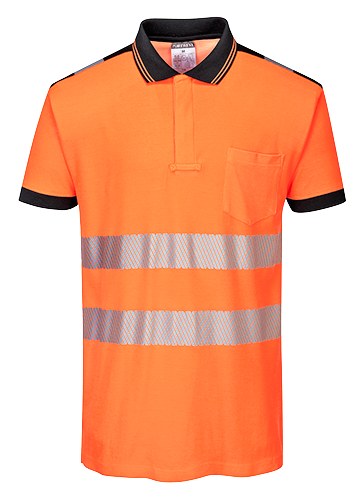 t180 PW3 Hi-Vis Polo Shirt  S/S