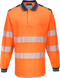 t184 PW3 Hi-Vis Polo Shirt  L/S