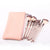 Rose Gold - 10 Pieces Makeup Brush Set