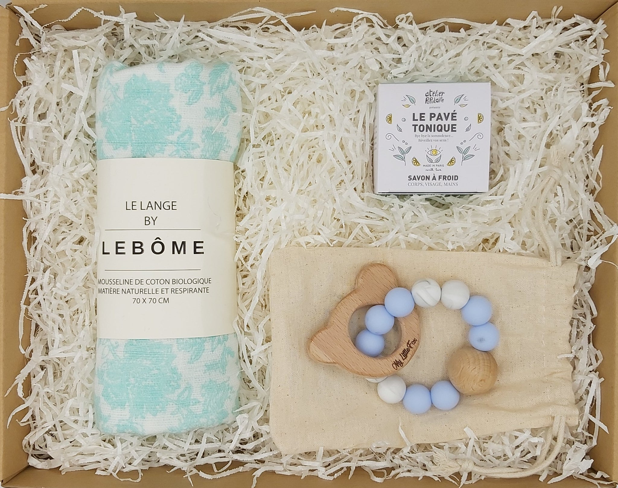 Coffret Maman&Baby Turquoise