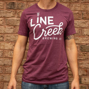 Line Creek Red Logo Tee