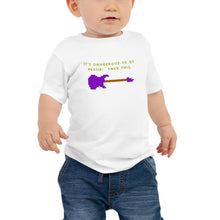 Load image into Gallery viewer, It's Dangerous to Go Alone (Strat) - Toddler T-Shirt - Death Emporium