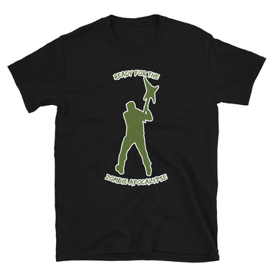 Ready for the Zombie Apocalypse Warrior- T-Shirt - Death Emporium