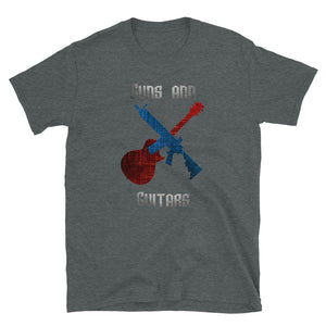 Guns and Guitars (LP) - T-Shirt - Death Emporium