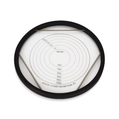 Circle counting grid (150 mm)