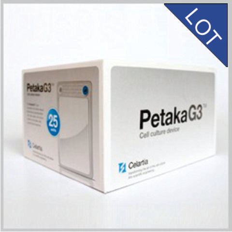 Petaka G3 LOT (Low Oxygen Transfer) - Anchorage Dependent Cell Cultures