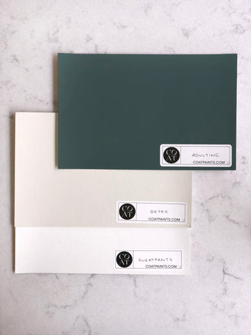 Teal Paint with Neutral Shades