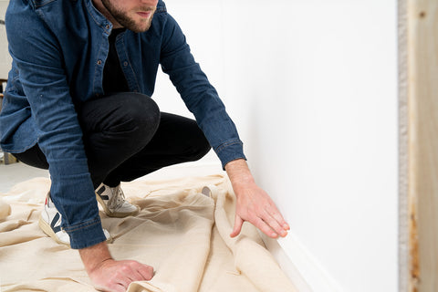 COAT how to prep a wall for painting