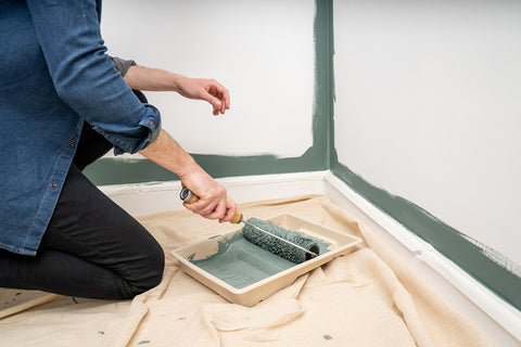 Eco-Friendly Green Paint