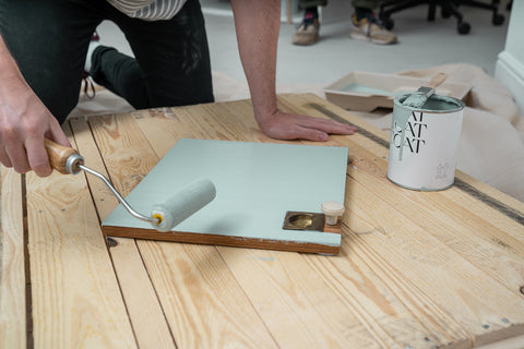 COAT how to prep wood for painting