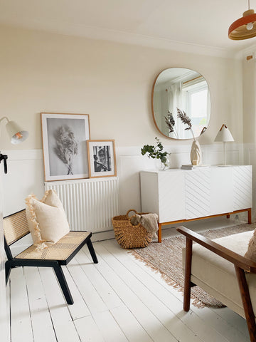Pampas Warm White emulsion wall paint by coat paints