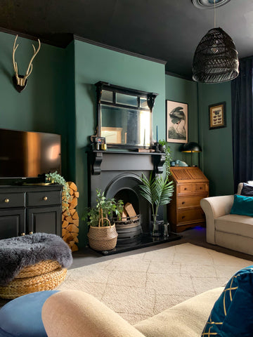 Adulting dark dusty teal paint by COAT paints