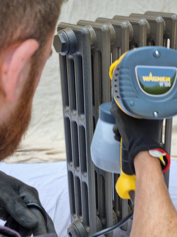 how to paint a radiator coat paints