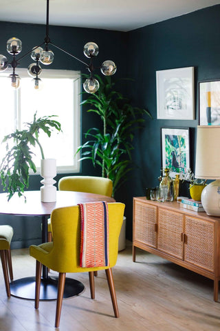Teal Wall Paint