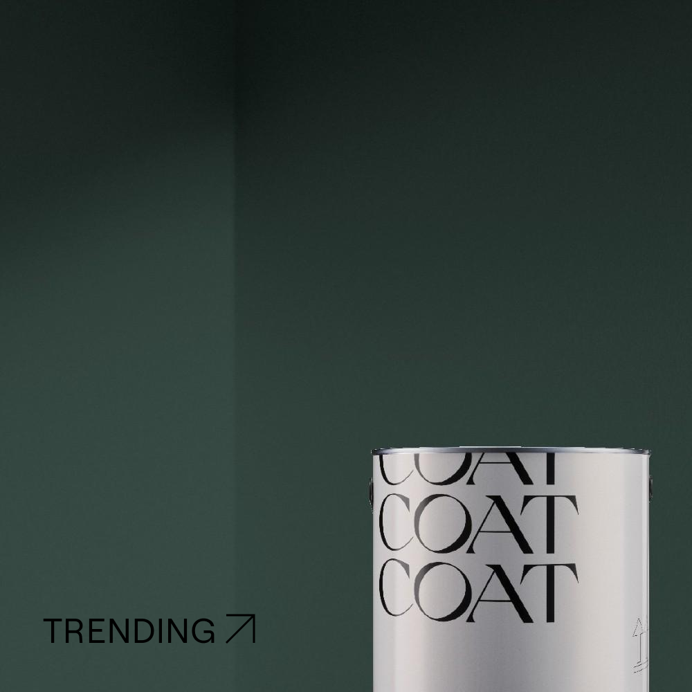 COAT Ditch The Tie Very Dark Green Emulsion Paint