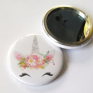 Pocket Mirror - Unicorn