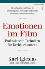 Laden Sie das Bild in den Galerie-Viewer, Karl Iglesias: Emotionen im Film, Autorenhaus