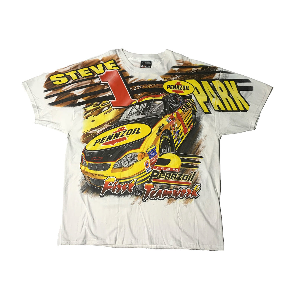 Load image into Gallery viewer, Vintage NASCAR All Over Print T-Shirt