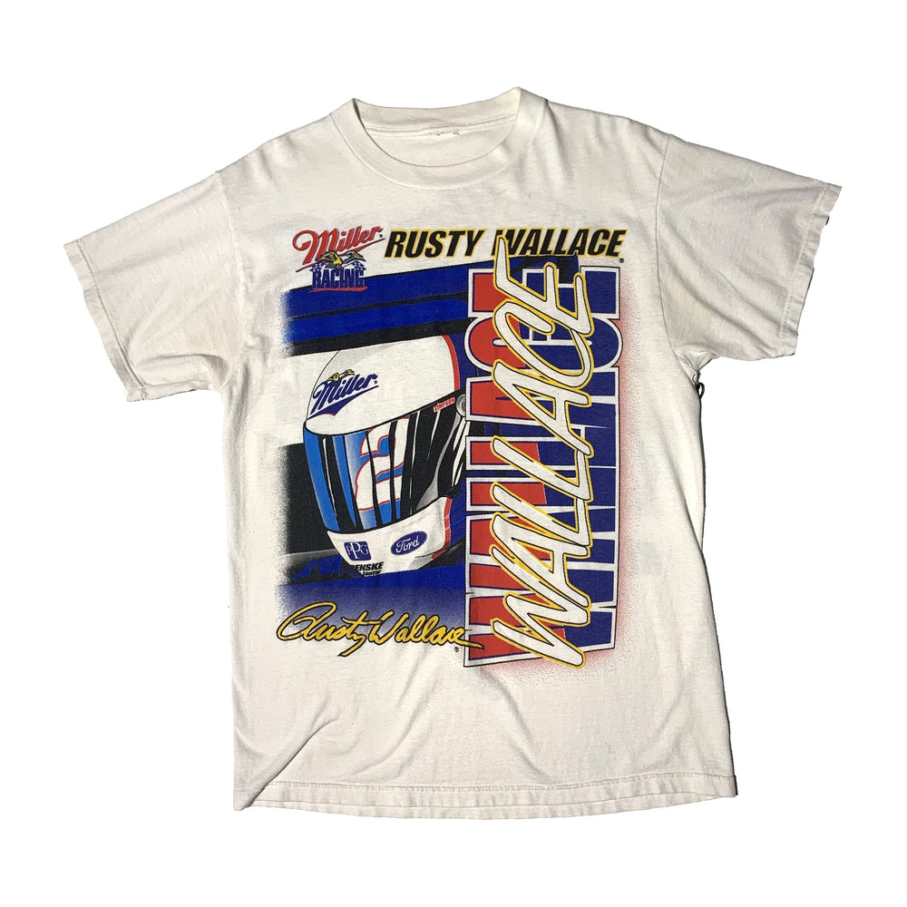 Vintage Rusty Wallace NASCAR 'Wide Open'  T-Shirt