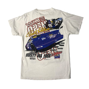 Load image into Gallery viewer, Vintage Rusty Wallace NASCAR 'Wide Open'  T-Shirt