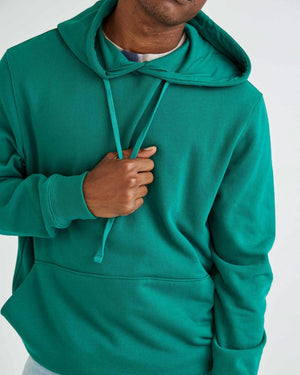 Load image into Gallery viewer, Richer Poorer Fleece Pullover Hoodie - 'Evergreen'