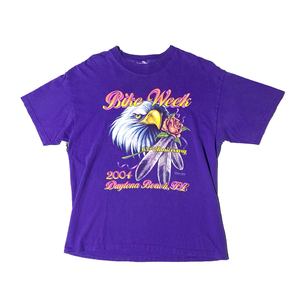 Load image into Gallery viewer, Vintage Bike Week Eagle T-Shirt
