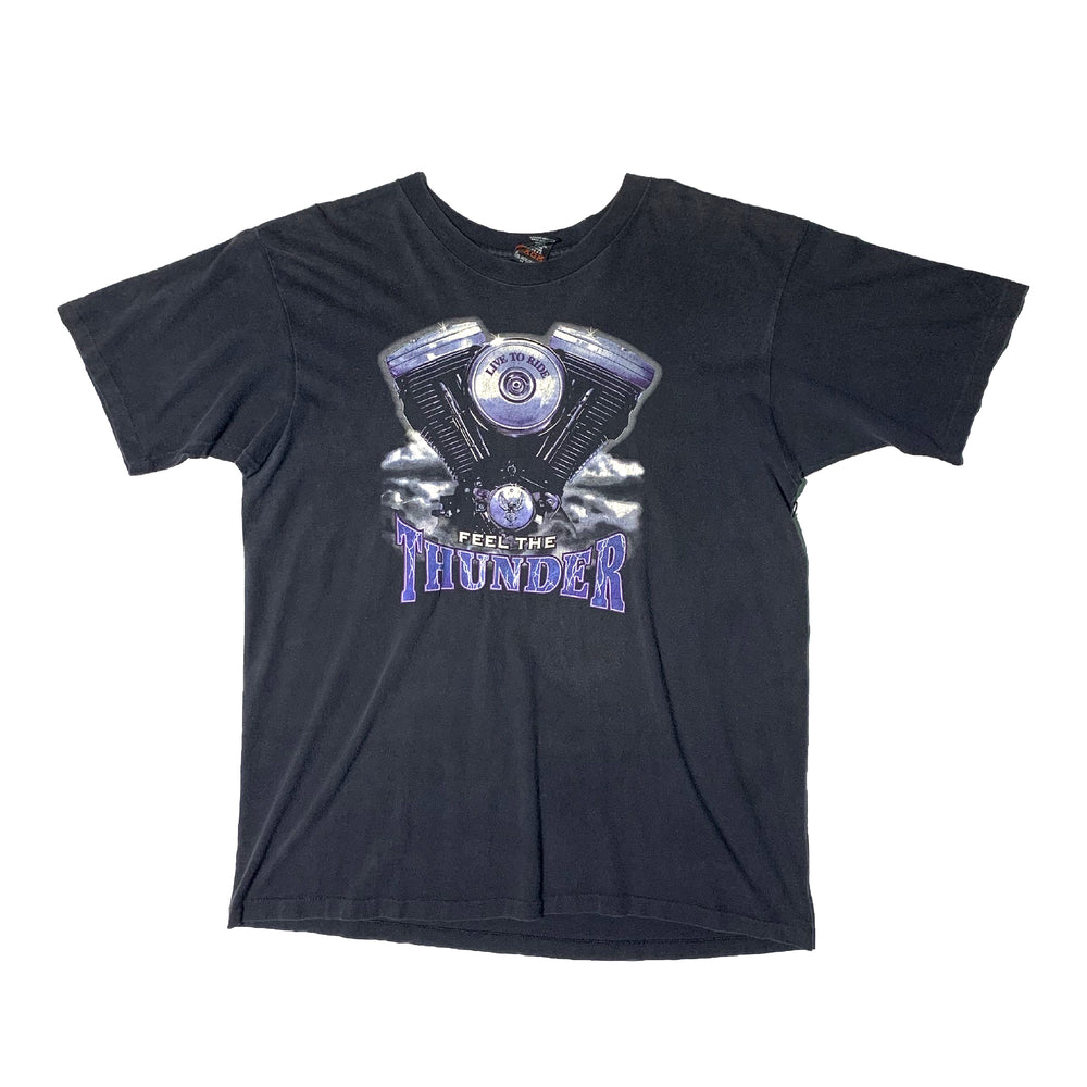 Load image into Gallery viewer, Vintage Harley Davidson Thunder T-Shirt