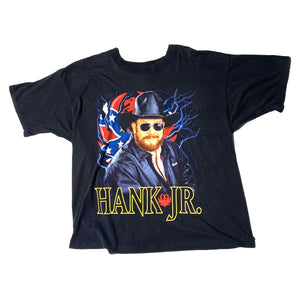 Load image into Gallery viewer, Vintage Hank Williams Jr. Tour T-Shirt