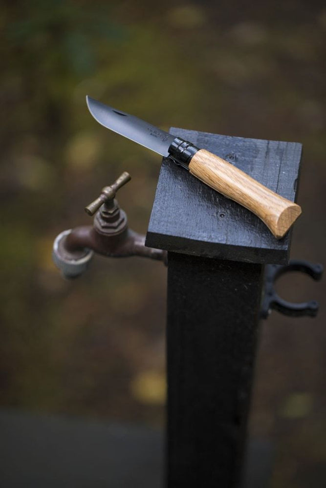 Load image into Gallery viewer, Opinel No.08 Folding Knive - 'Black Oak'