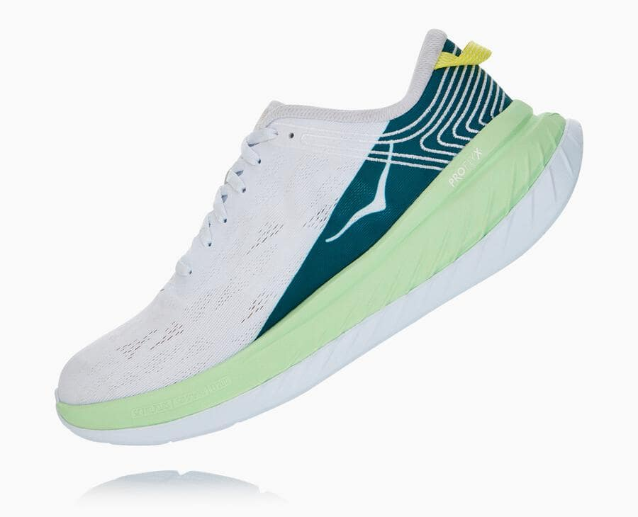 Load image into Gallery viewer, Hoka One One Carbon X - 'Green Ash / White'