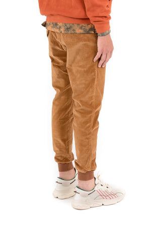Load image into Gallery viewer, Kuwalla Corduroy Jogger - 'Burnt Orange'