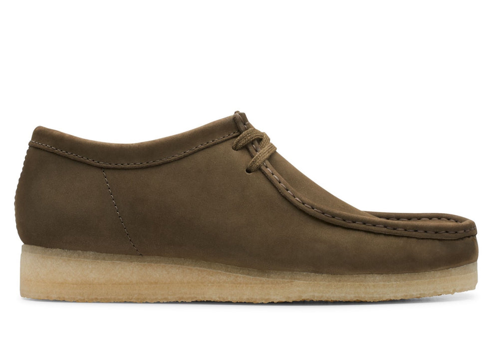 Clarks Wallabee - 'Dark Olive Nubuck'