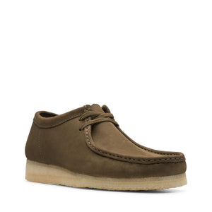 Load image into Gallery viewer, Clarks Wallabee - 'Dark Olive Nubuck'