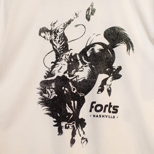 Load image into Gallery viewer, FORTS Cowboy SS Tee - 'Bone'