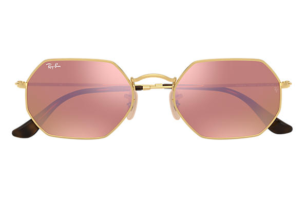 Ray-Ban Octagonal Flash Lenses - 'Copper Flash'
