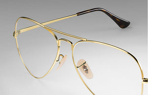 Load image into Gallery viewer, Ray-Ban Aviator Optics - 'Gold Photo Gray'