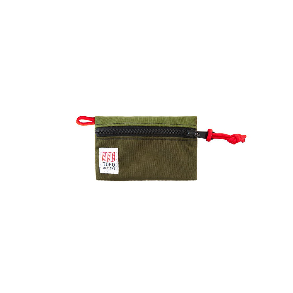 Topo Designs Micro Accessory Bag - 'Olive/Olive'