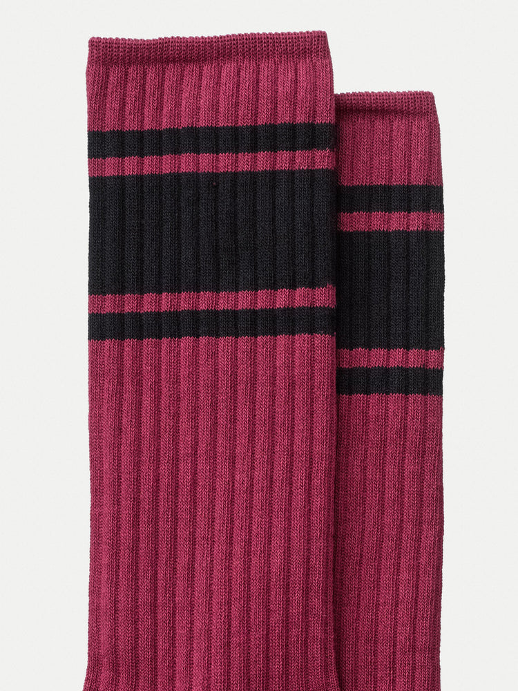 Load image into Gallery viewer, Nudie Amundsson Sport Socks - Cherry