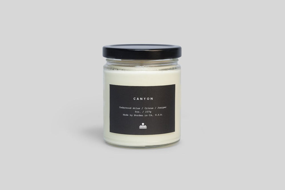 Norden Candle 8oz Jar Candle - 'Canyon'