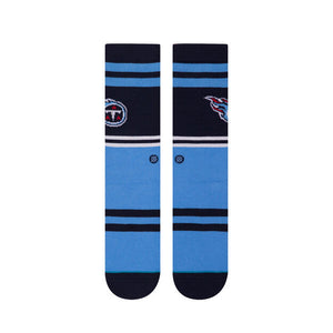 Load image into Gallery viewer, Stance Casual Crew Socks - 'Titans Logo'