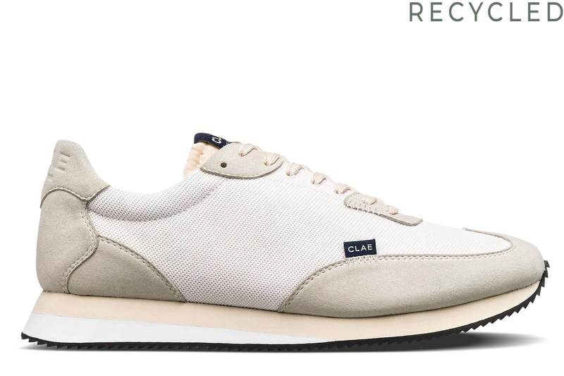 Clae Runyon 'White Mesh Cream'