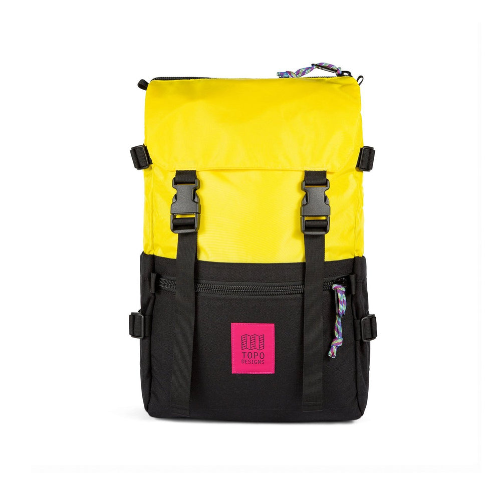 Topo Designs Rover Pack Classic - 'Yellow/Black'