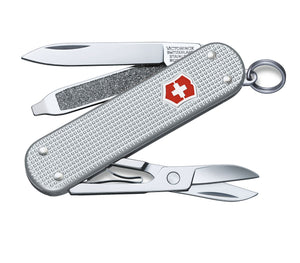 Load image into Gallery viewer, Victorinox Swiss Army Classic Alox Pocket Knife - 'Silver'