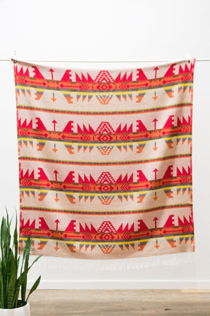 Load image into Gallery viewer, Sackcloth & Ashes Blanket - 'Arrow Fire'