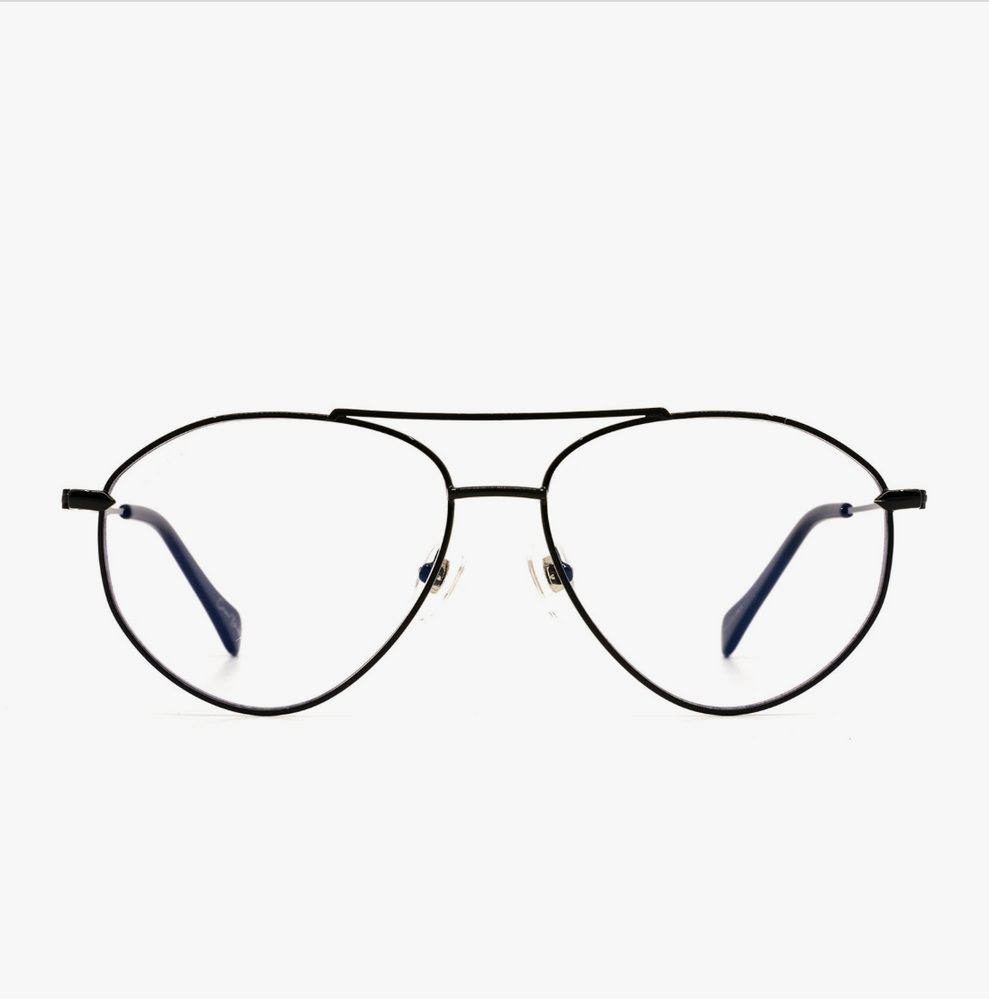 Diff Eyewear Cameran Eubanks - Carolina + Black Blue Light Tech Lens