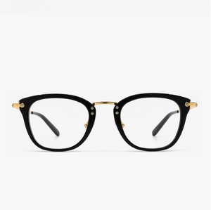 Load image into Gallery viewer, Diff Eyewear Rue - Black + Black Blue Light Tech Lens