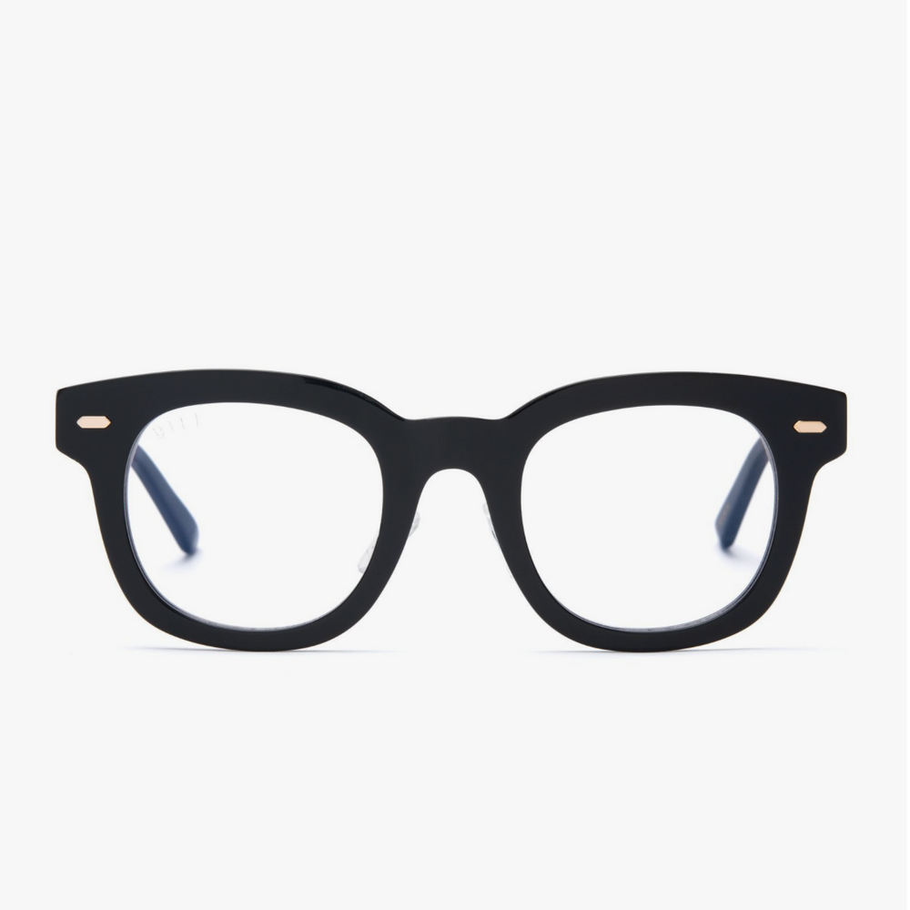 Diff Eyewear Summer - Black + Black Blue Light Tech Lens