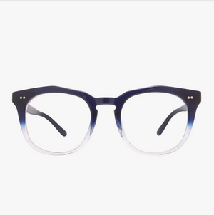 Load image into Gallery viewer, Diff Eyewear Weston - Navy Ombre + Blue Light Tech Lens