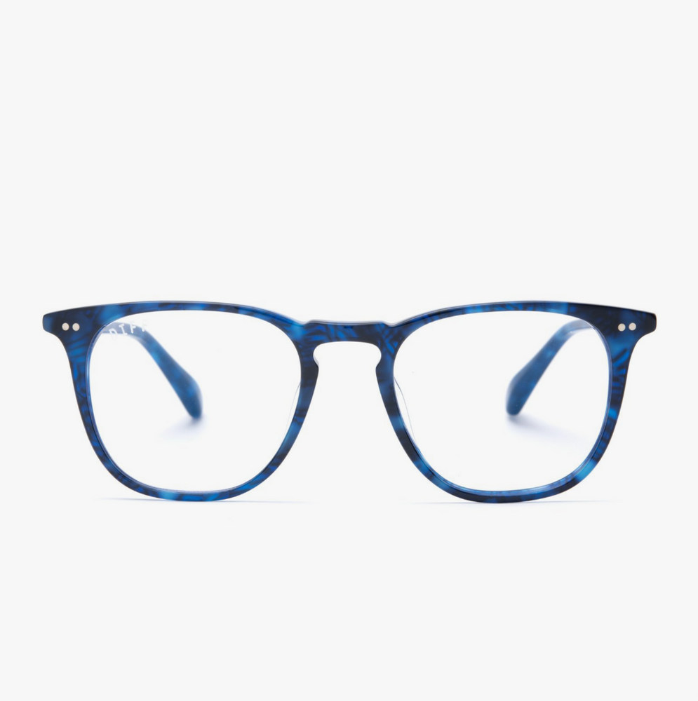 Diff Eyewear Maxwell - Regal Blue Tortoisel + Blue Light Tech Lens