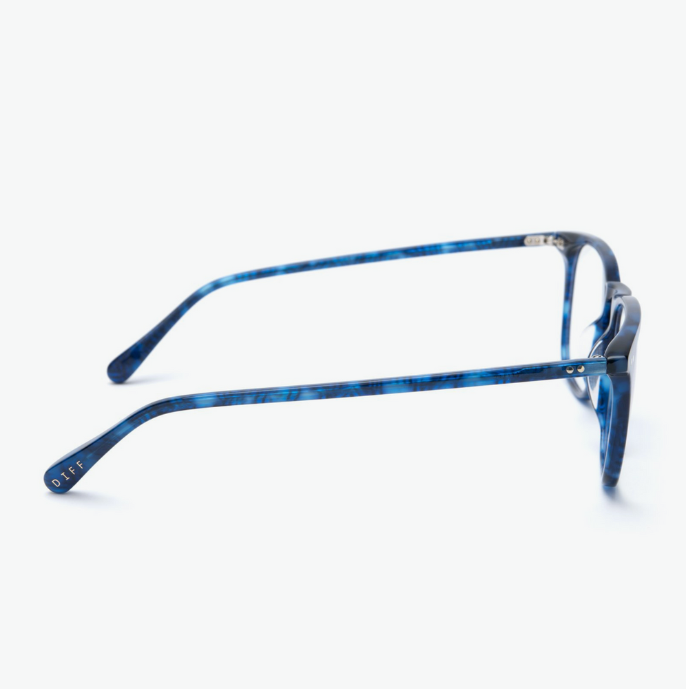 Load image into Gallery viewer, Diff Eyewear Maxwell - Regal Blue Tortoisel + Blue Light Tech Lens